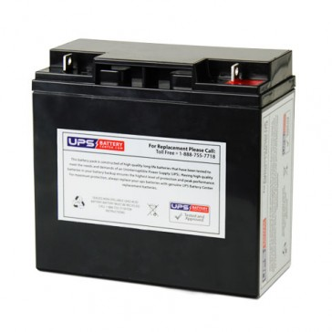 MUST FC12-17 12V 17Ah Battery