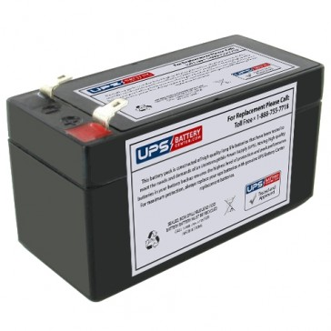 Napco Alarms RBAT1.2 12V 1.4Ah Battery