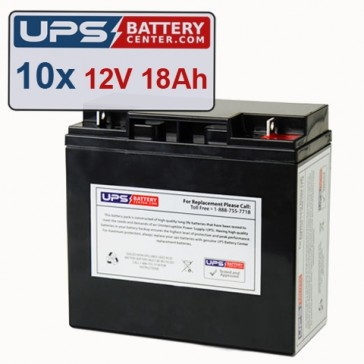 GE Medical Systems AMX III Batteries - Set of 10