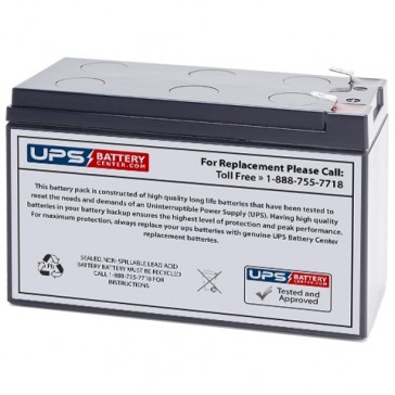 Panasonic UP-RWA1232P 12V 32W/Cell Battery