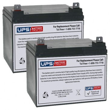 Topaz 850 12V 32Ah Replacement Battery