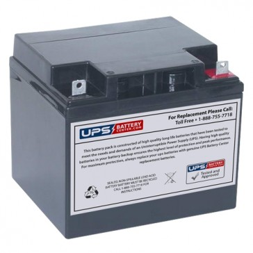 MaxPower NP40-12 12V 40Ah Battery