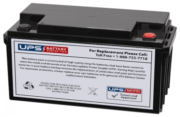 SeaWill LSW1275S F9 Insert Terminals 12V 75Ah Battery