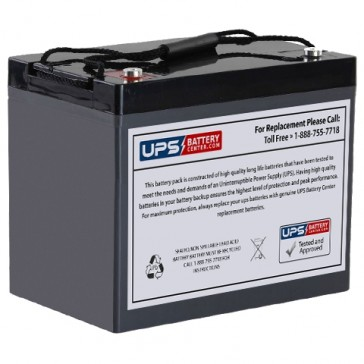 VCELL 12VC90 M6 Insert Terminals 12V 90Ah Battery