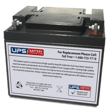 F&H UN45-12X 12V 45Ah Battery