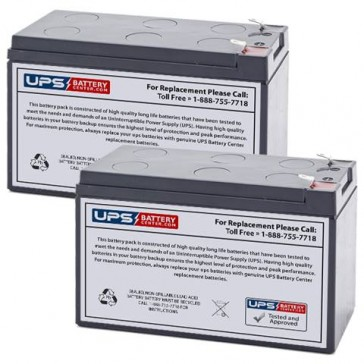 Potter Electric PFC-5002 (Set of 2) 12v 9Ah Batteries