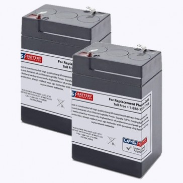Impact Instrumentation 315 Portable Aspirator Batteries