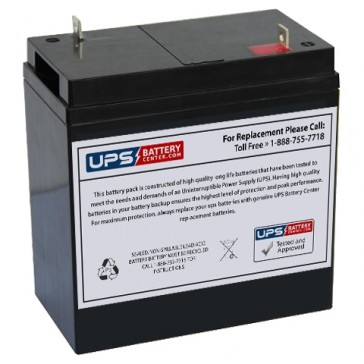 Weiboer GB6-42 6V 42Ah Battery