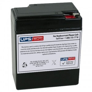 Multipower MP9-6A 6V 9Ah Battery