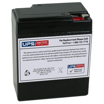 Weiboer GB6-9 6V 9Ah Battery