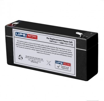Pace Tech Vitalmax 530 Pulse Oximeter 6V 3Ah Battery