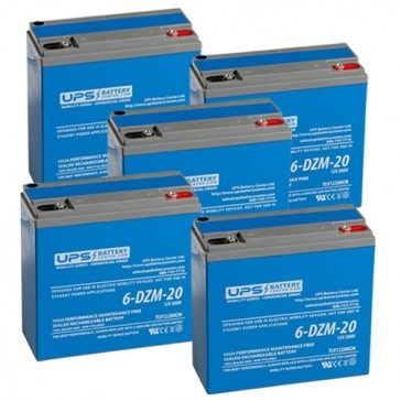 epRider AT 803 60V 20Ah Battery Set