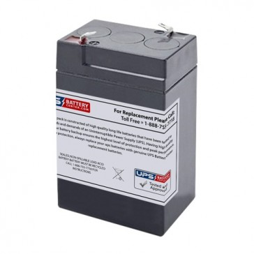 BB 6V 4Ah BP4-6 Battery with F1 Terminals