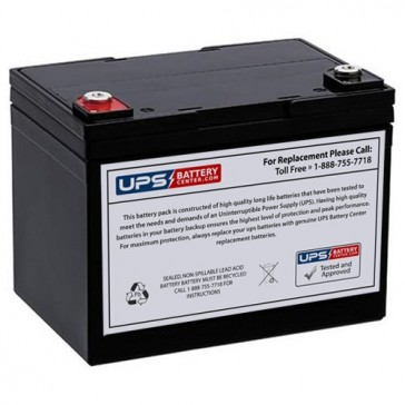 Cellpower 12V 33Ah CPW 160-12 Battery with F9 Insert Terminals