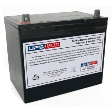 CooPower 12V 70Ah CP12-70 Battery with NB Terminals