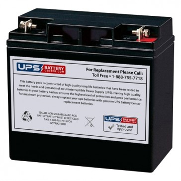 SJ12V15Ah - Kinghero 12V 15Ah Replacement Battery