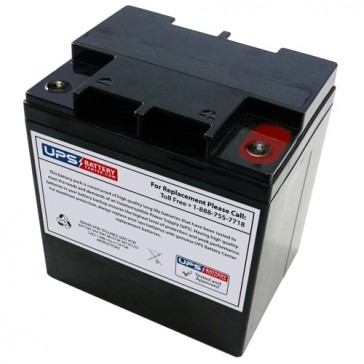 LCB 12V 28Ah SP30-12T Battery with M5 Insert Terminals