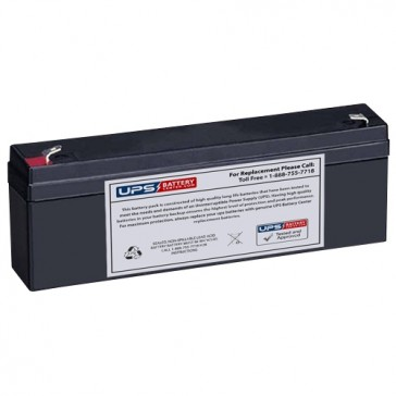 Philips M78671A Monitor 12V 2.3Ah Battery