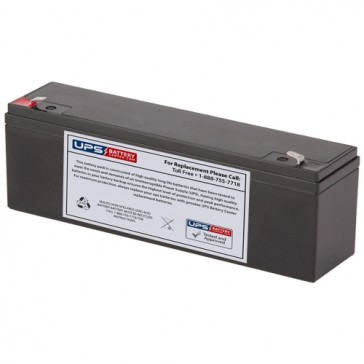 TLV1240S - 12V 4Ah Sealed Lead Acid Battery with F1 Terminals