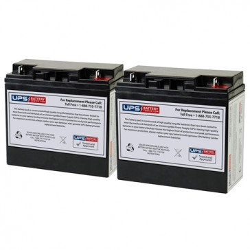 84864-01 - Topaz 12V 18Ah F3 Replacement Batteries