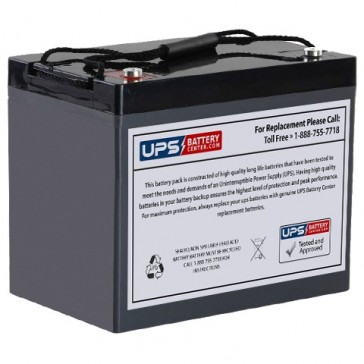 Universal 12V 90Ah UB12900 Battery with M6 Insert Terminals