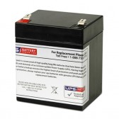 TLV1250F2 - 12V 5Ah Sealed Lead Acid Battery with F2 Terminals