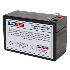Ocean NP1.3-12 12V 1.3Ah Battery