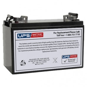 Power Kingdom PK110-12 12V 110Ah Battery