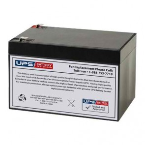 Jopower JP12-12 12V 12Ah F2 Battery