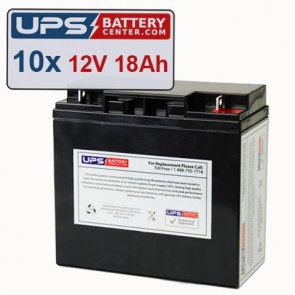 GE Medical Systems AMX I Batteries - Set of 10