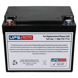 Plus Power PP12-38 F11 insert Terminals 12V 38Ah Battery