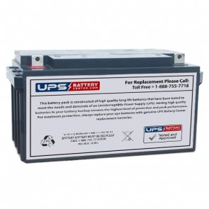 Pustun PST65-12 NB 12V 65Ah Battery