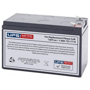Potter Electric BT-80 12v 9Ah Battery