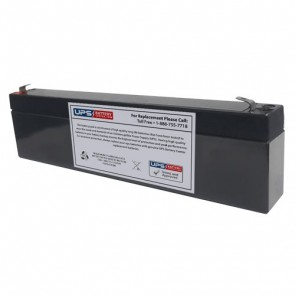 Cellpower 6V 3.5Ah CP 3.5-6 Battery with F1 Terminals