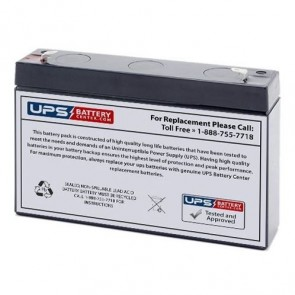 CooPower 12V 2.9Ah CP12-2.9 Battery with F1 Terminals