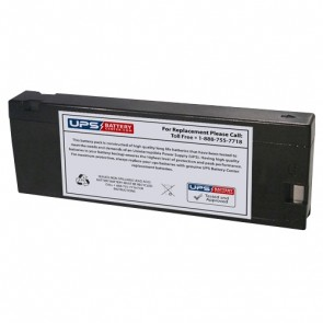 CooPower 12V 2.1Ah CP12-2.1SX Battery with PC - Pressure Contact Terminals