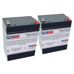 Invacare Reliant 350 Patient Lift 12V 2.9Ah Batteries with F1 Terminals