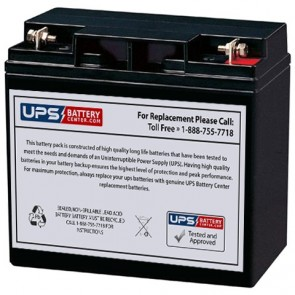LCB 12V 22Ah UP12145W Battery with F3 - Nut & Bolt Terminals