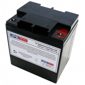 LCB 12V 28Ah UP12238W Battery with M5 - Insert Terminals