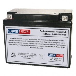 LongWay 6V 20Ah 3FM20 Battery with F4 Terminals
