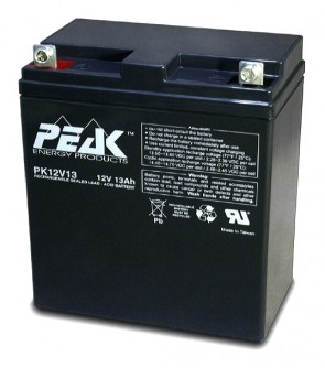 Peak Energy PK12V13B1 12V 13Ah Battery