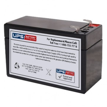 Q-Power QP12-1.3B 12V 1.3Ah Battery