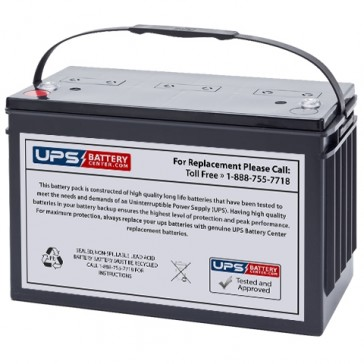 Unicell TLA12900-CP 12V 90Ah Battery