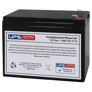 Jopower JP12-10 12V 10Ah F1 Battery