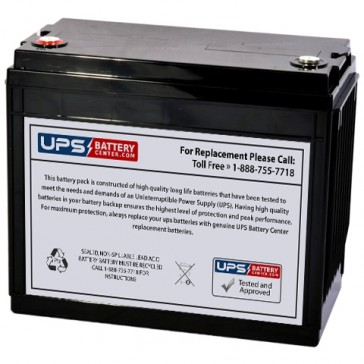 IBT BT134-12 12V 134Ah Battery