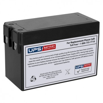 MaxPower NP2.5-12S 12V 2.5Ah F2 Battery