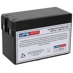 F&H UN2.5-12 12V 2.5Ah Battery