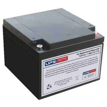 MaxPower NP26-12X 12V 26Ah Battery