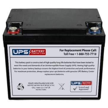 SeaWill LSW1238 F9 Insert Terminals 12V 38Ah Battery