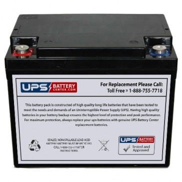 Unicell TLA12500 12V 60Ah Battery